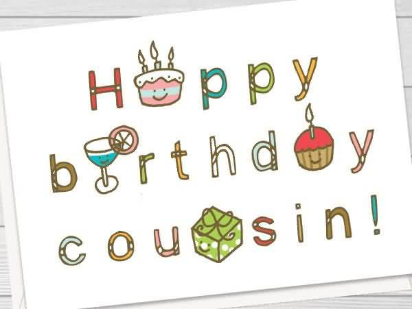 Birthday Wishes Cousin E Card