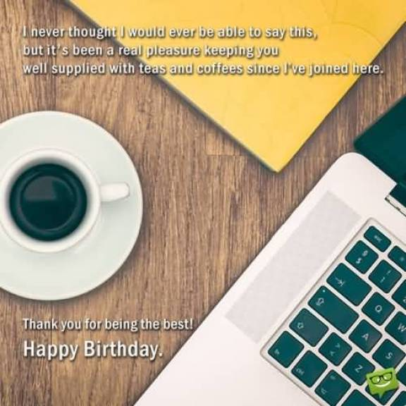 Birthday Wishes Message For Boss Image