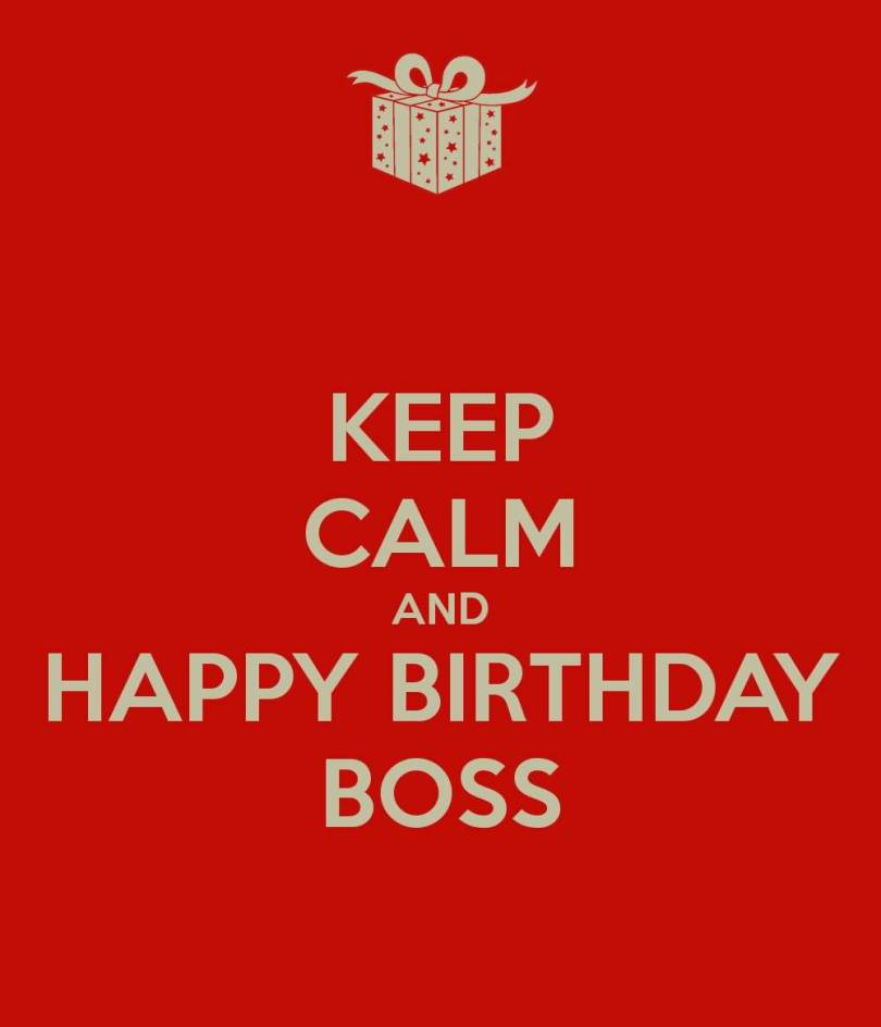 Boss Birthday Wishes Card