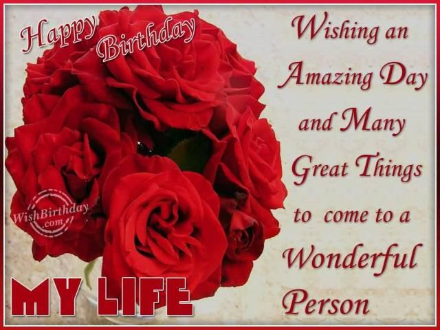 Boyfriend Happy Birthday Message Free Image