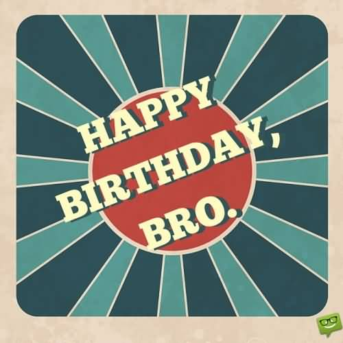 Brother Birthday Card Wishes