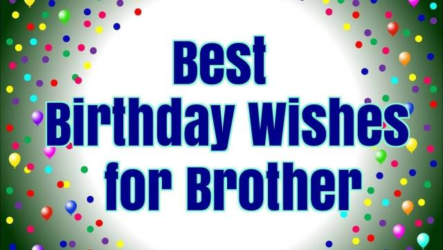 Brother Birthday Greeting Picture