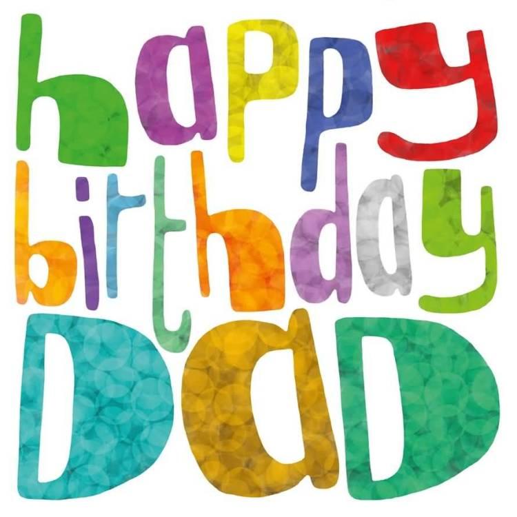 Colorful Happy Birthday Greeting Image