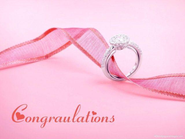 Congratulations Diamond Ring Picture