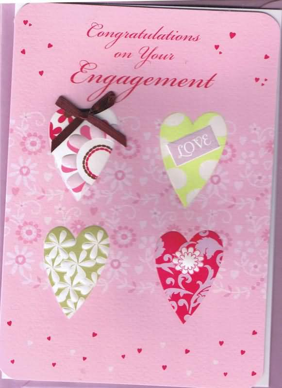 Congratulations On Your Engagement Greeting Card Picture