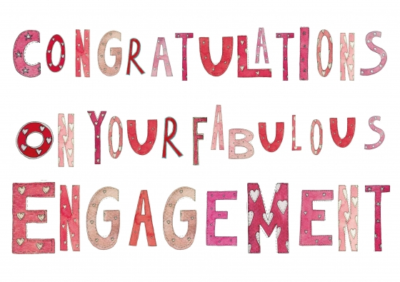 Congratulations On Your Fabulous Engagement Greeting