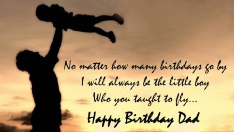 Dad Happy Birthday Quotes Image