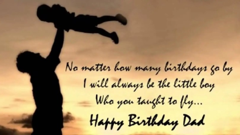 Dad Happy Birthday Quotes Image