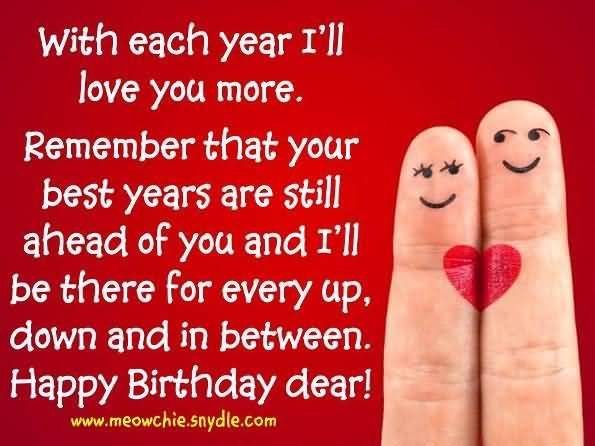 Dear Boyfriend Happy Birthday Message