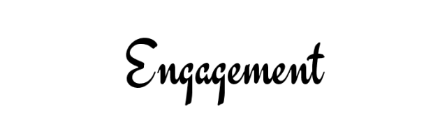 Engagement Greeting Text Image