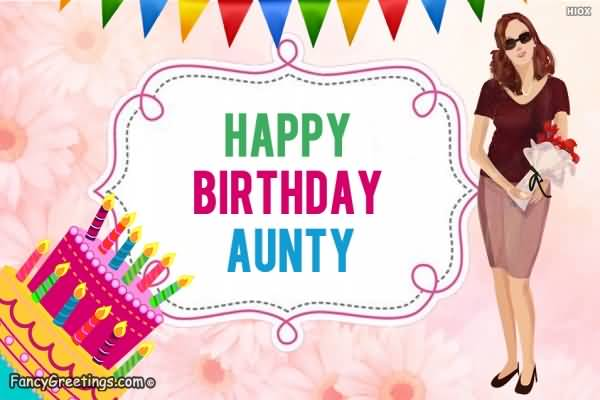 Fabulous Birthday Greeting E Card For Fabulous Auntie