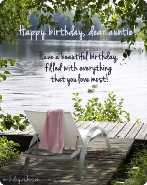 Fabulous Birthday Quotes For Special Aunt