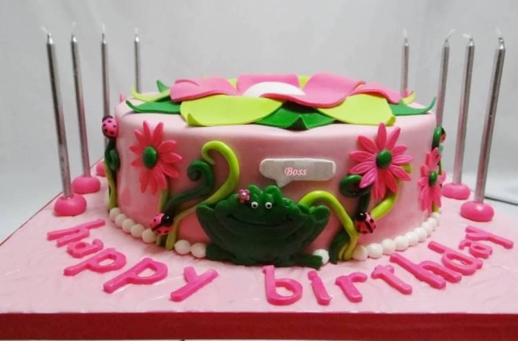 Fabulous Birthday Wishes Cake For Boss
