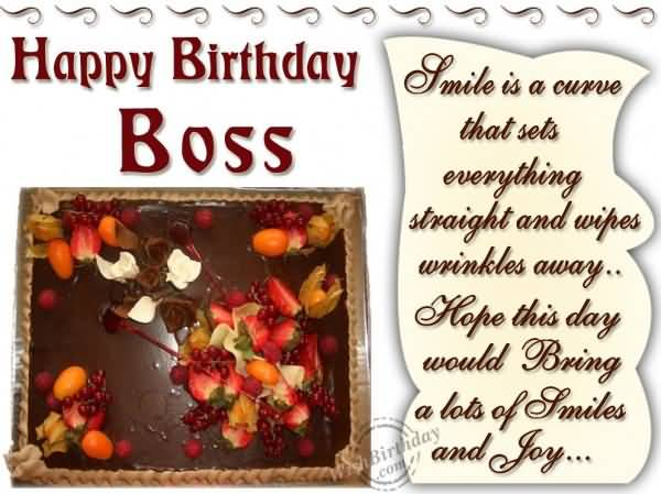 Fabulous Birthday Wishes For Boss (2)