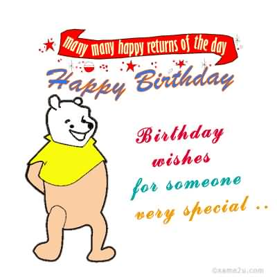 Funny Birthday Wishes Image To Someone Special