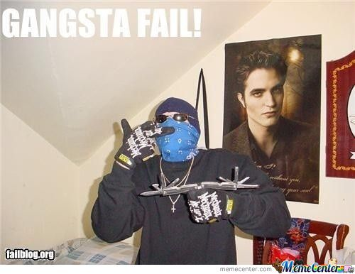 Funny Gangster Meme Gangster Fail Picture