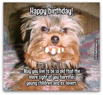 40 Most Funny Happy Birthday Wishes Image/Wallpaper/Meme