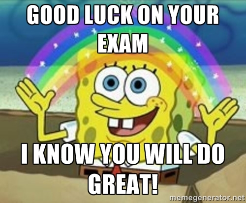 Good Luck On Your Exam Picture