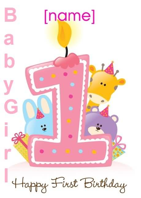 37 Sweet Baby Girl Birthday Greetings Cards Wishes Photos – 1st Birthday Greetings