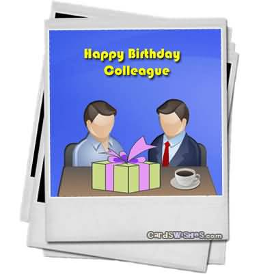 Happy Birthday Colleague Wishes Image
