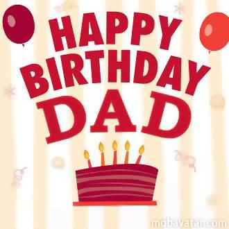 Happy Birthday Dad Greeting Card Picture