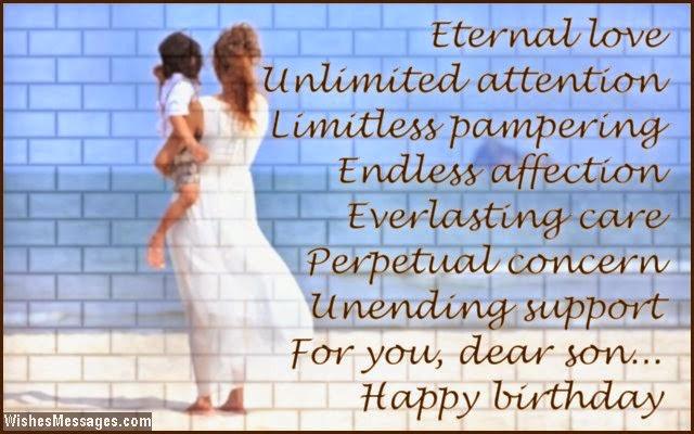 Happy Birthday Eternal Love For You Dear Son