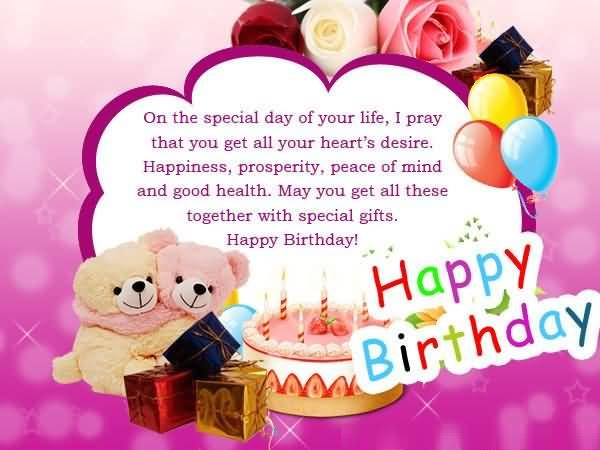 Happy Birthday Greeting For Someone Special