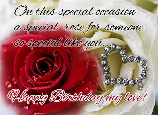 Happy Birthday Greeting Wishes Image For Someone Special