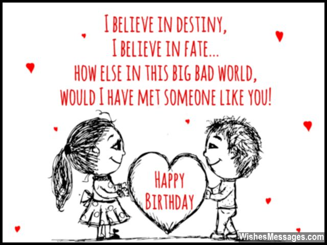 Happy Birthday I Believe In Destiny I Believe In Fate Picture