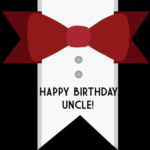 Happy Birthday Uncle Greeting Card