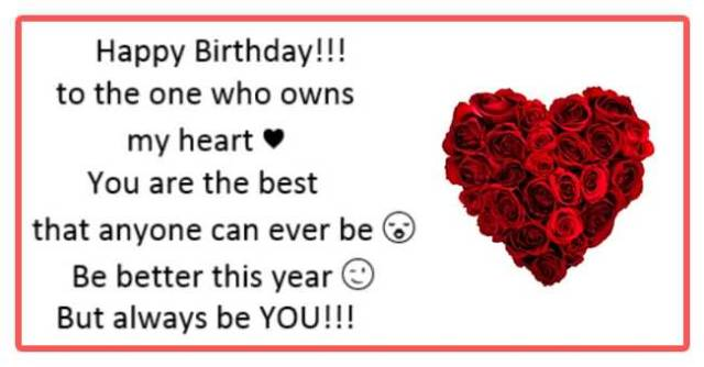 Happy Birthday Wishes For Boyfriend Quotes