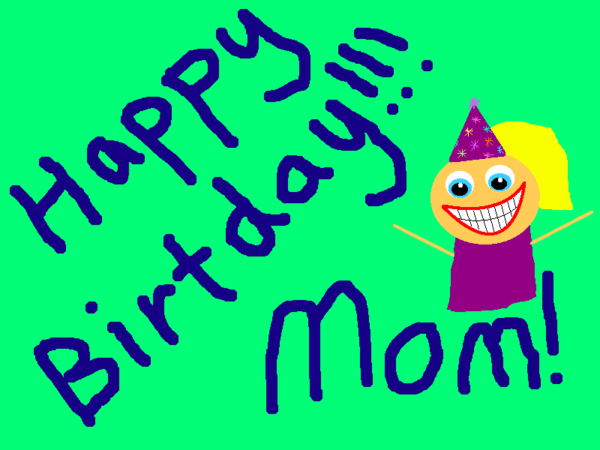 Happy Birthday Wishes For Mom Greeting Image