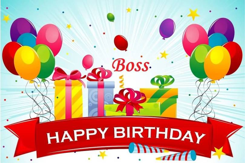 Happy Birthday Wishes For kind Boss