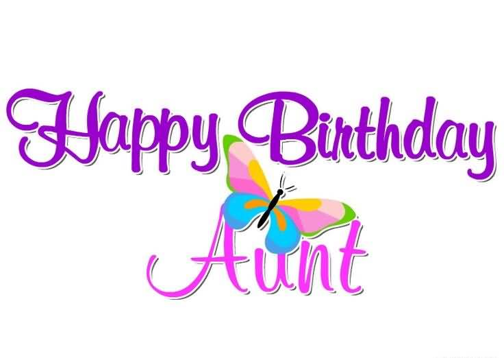 Happy Birthday Wishes Handmade Card For Lovely Aunt