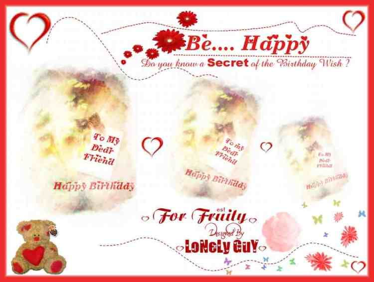 Happy Birthday Wishes Image For Dear Friend