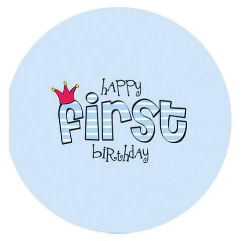 Happy First Birthday Baby Boy