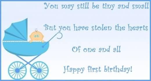 Have A Wonderful Birthday Baby Boy
