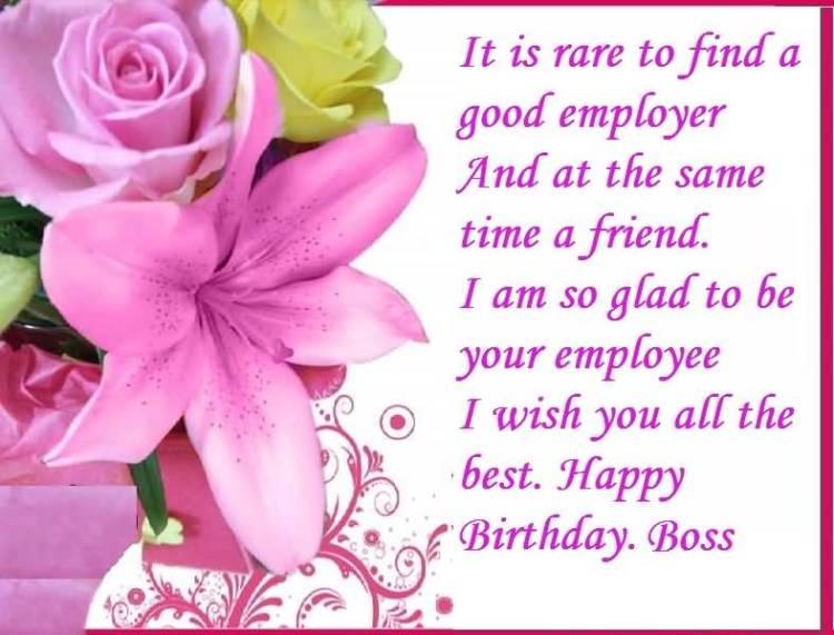 Have A Wonderful Day Happy Birthday Boss