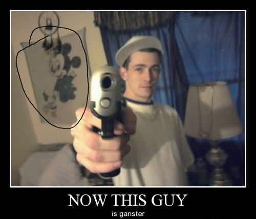 Hilarious Gangster Meme Now This Guy Is Ganster Image