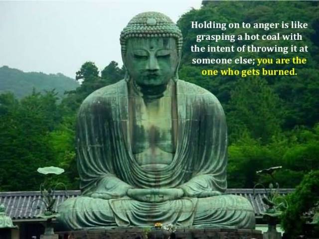 Holding On To Anger Is Like Grasping A Hot Goal With The Intent Of Throwing It At Someone Else You Are The One Who Gets Burned