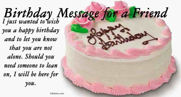 I Just Wanted to Wish You A Happy Birthday And To Let You Know