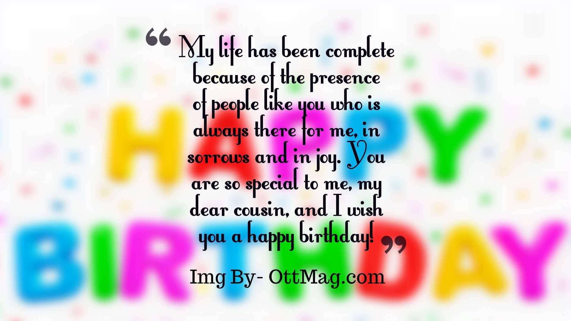 31 Amazing Cousin Birthday Wishes Greetings & Graphics