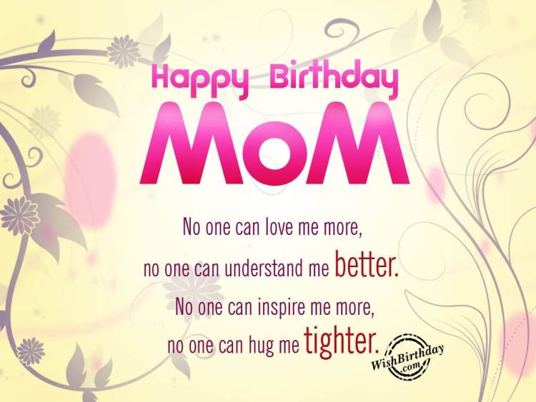 Inspire Mom Birthday Quotes Wishes From Son