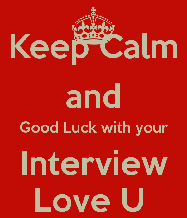 Keep Calm And Good Luck Image