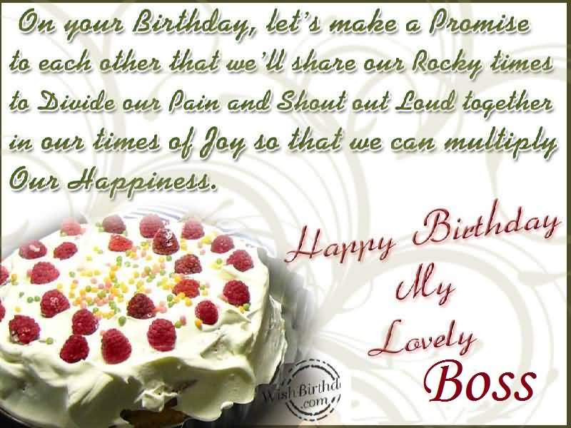 Lovely Birthday Greetings For Boss