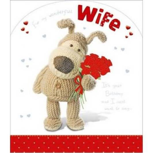 Lovely Teddy Birthday Wishes For Wife