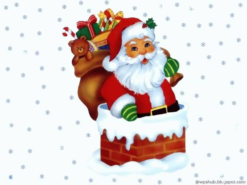 Merry Christmas Santa Gif