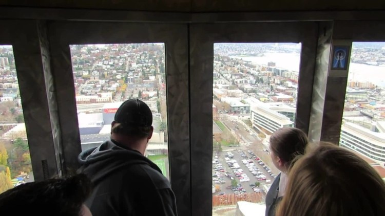 Mind Blowing Outside View From Space Needle Inside Photo