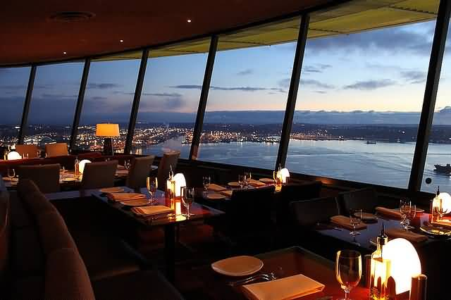 Most Beautiful Restaurant Inside Space Needle Photo