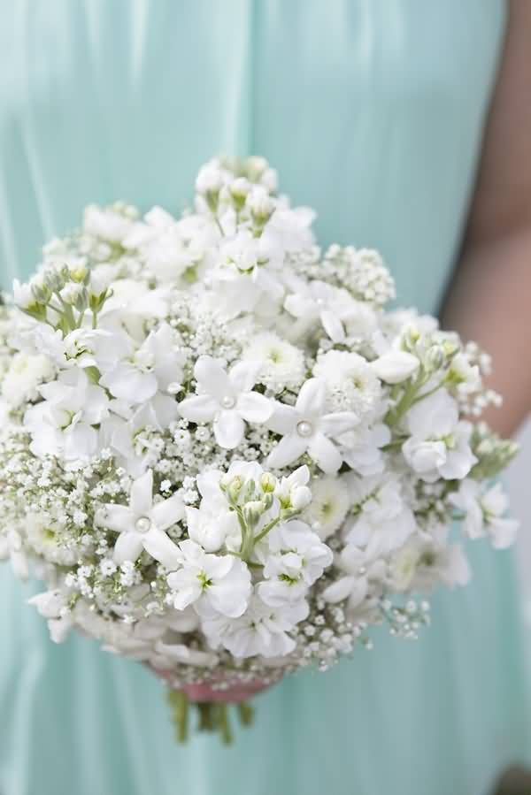 Out Standing White Baby's Breath Flower For Wedding